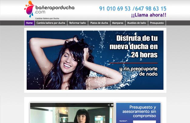 diseno-web-baneraporducha