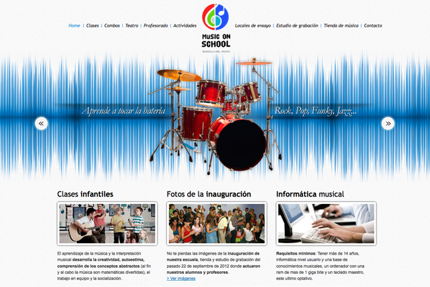 diseno-web-musiconschool
