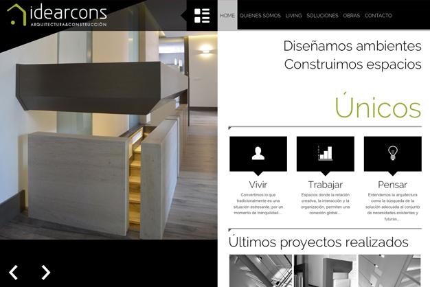 Página web de idearcons